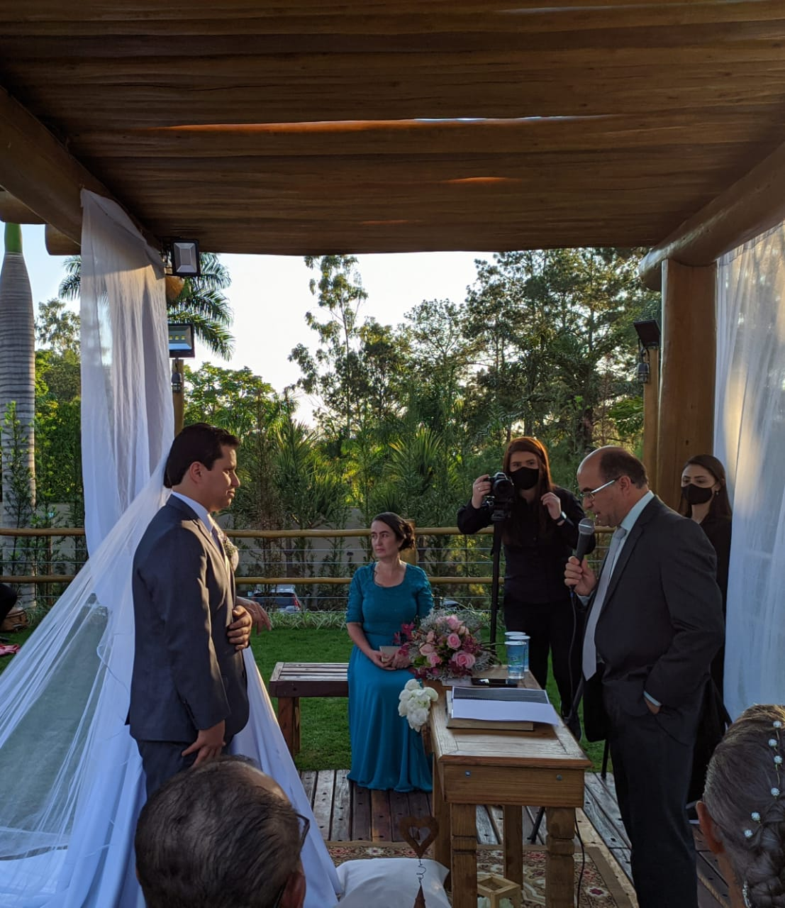 Casamento de Élida e William